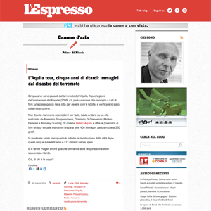 Screenshot L'Espresso