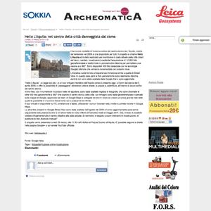 Screenshot Archeomatica