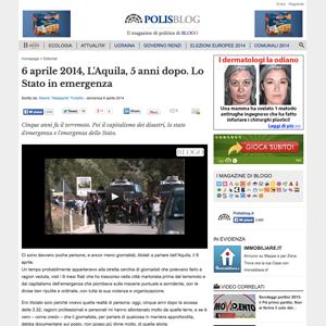 Screenshot PolisBlog