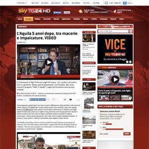 Screenshot SkyTG24