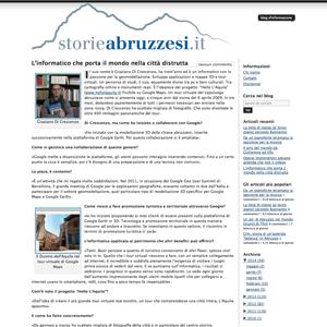 Screenshot Storie abruzzesi