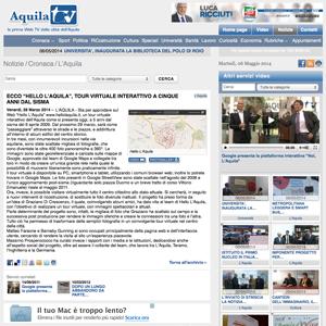 Screenshot Aquila TV