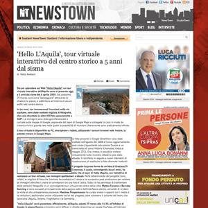 Screenshot NewsTown