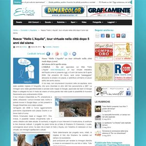 Screenshot Eidos news