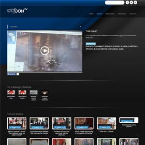 Screenshot aqbox TV